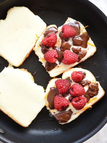 Raspberry Chocolate Grilled Cheese Renews Our Faith In Humanity