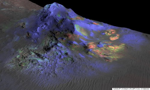 Glass Found On Mars May Hold Important Clues About Life On The Red Planet