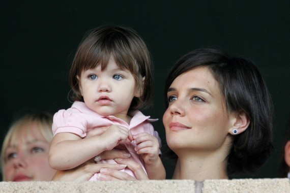 Baby Suri Cruise Is Possibly The Cutest Thing Ever (PHOTO)
