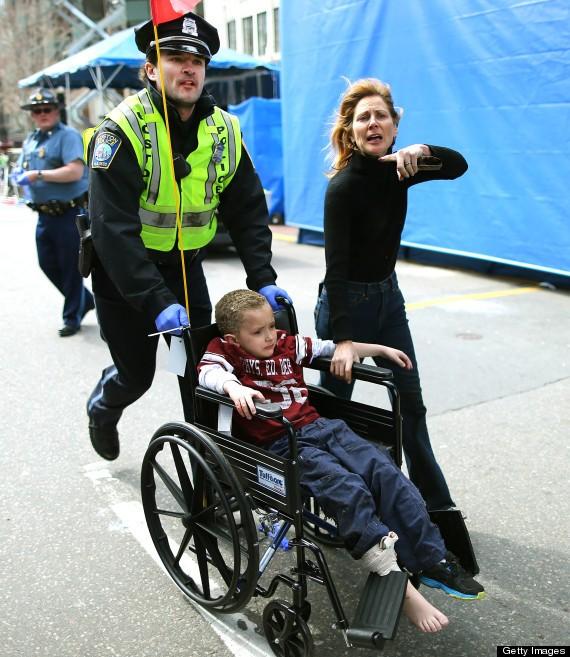 Heroic First Responders At The Boston Marathon (PHOTOS)