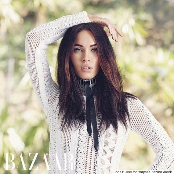 Megan Fox Covers Harper's Bazaar Arabia And Talks About Her Genetic Advantage