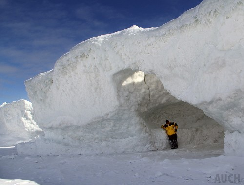 'Once In A Lifetime' Ice Caves Form On Lake Michigan Shore