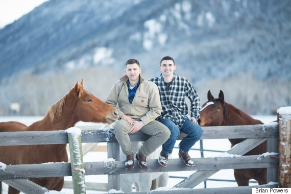 Gay Love On A Montana Ranch Captured By Photographer Brian Powers