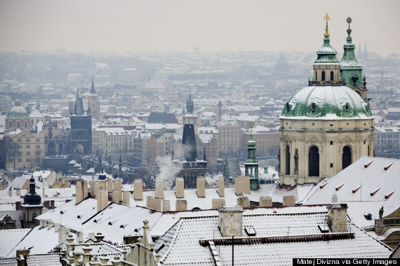 Europe Covered In Snow Is A LOT Prettier Than America Covered In Snow...Just Sayin'