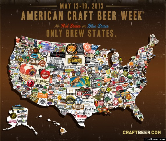 Craft Beer Map Shows Love Of Brew Across The U.S. (PHOTO)
