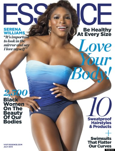 Serena Williams Covers Essence 'Body Issue' And Shows Off Her Killer Curves (PHOTO)