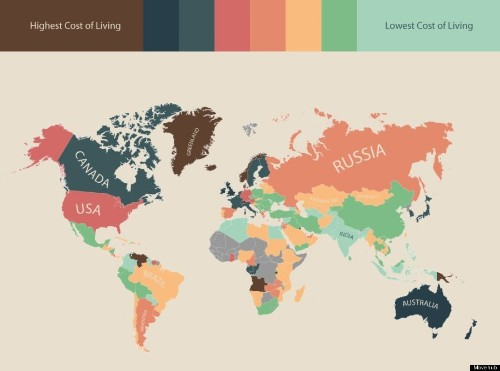 Here Are The Most Expensive Countries In The World To Live In