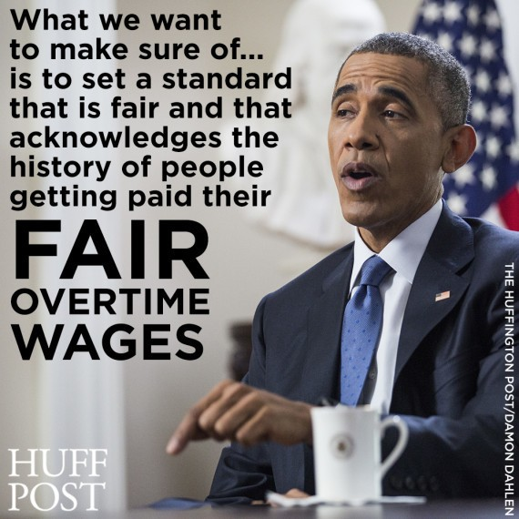 Obama Says Workers Are Being 'Cheated' Out Of Overtime Pay