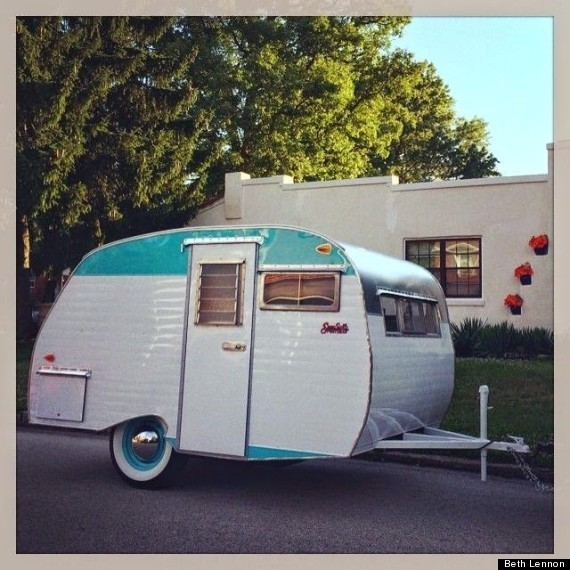 Adorable Vintage Trailers Bring Style To Simple Living