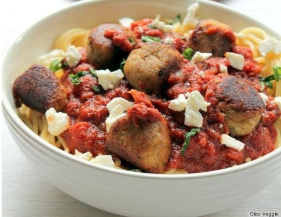 These Vegetarian Meatballs Are Made With Eggplant, And They're The Real Deal