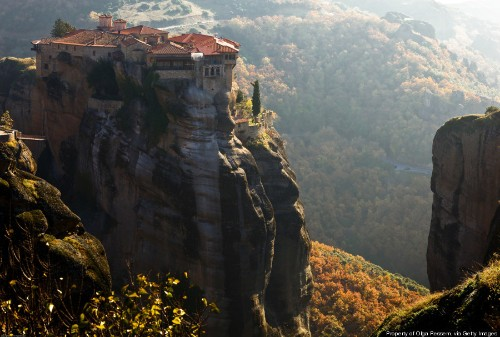 Meteora, The Real Life 'Eyrie,' Deserves A Spot On Your Bucket List