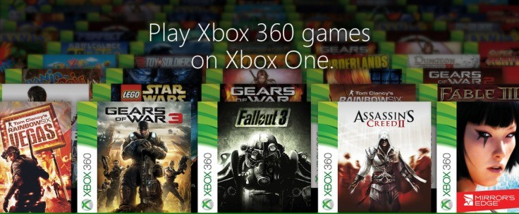 Xbox One: Microsoft working on making backwards compatible 360 games available to buy