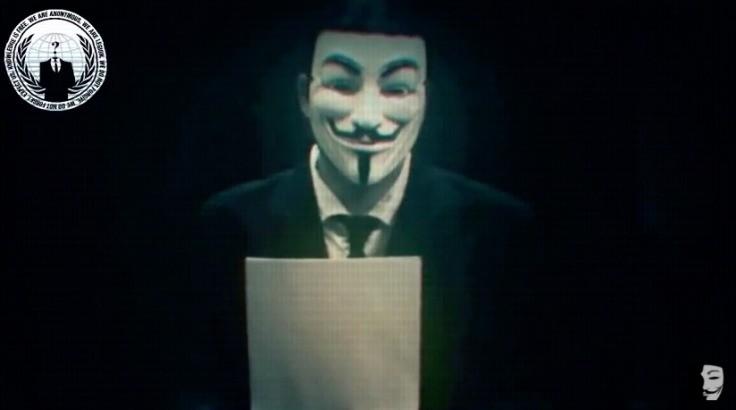 Anonymous - Magazine cover