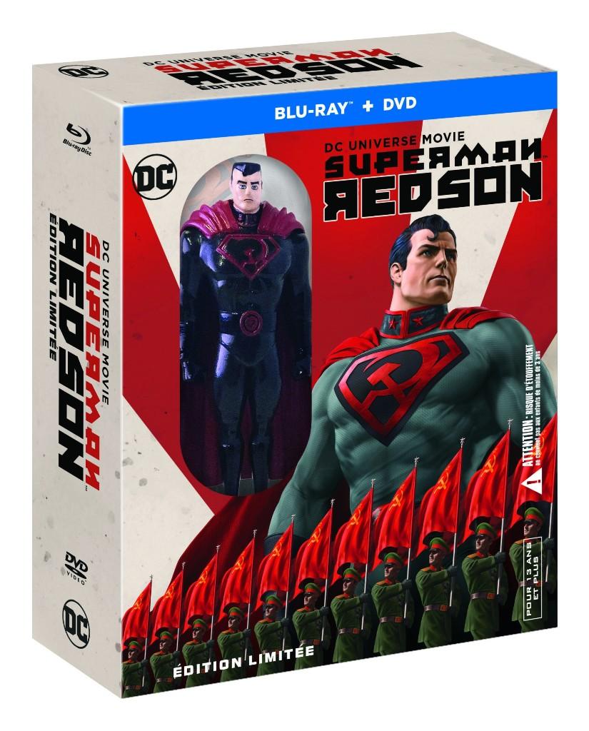 Superman Red Son arrive en DVD/BR ce mois de juin