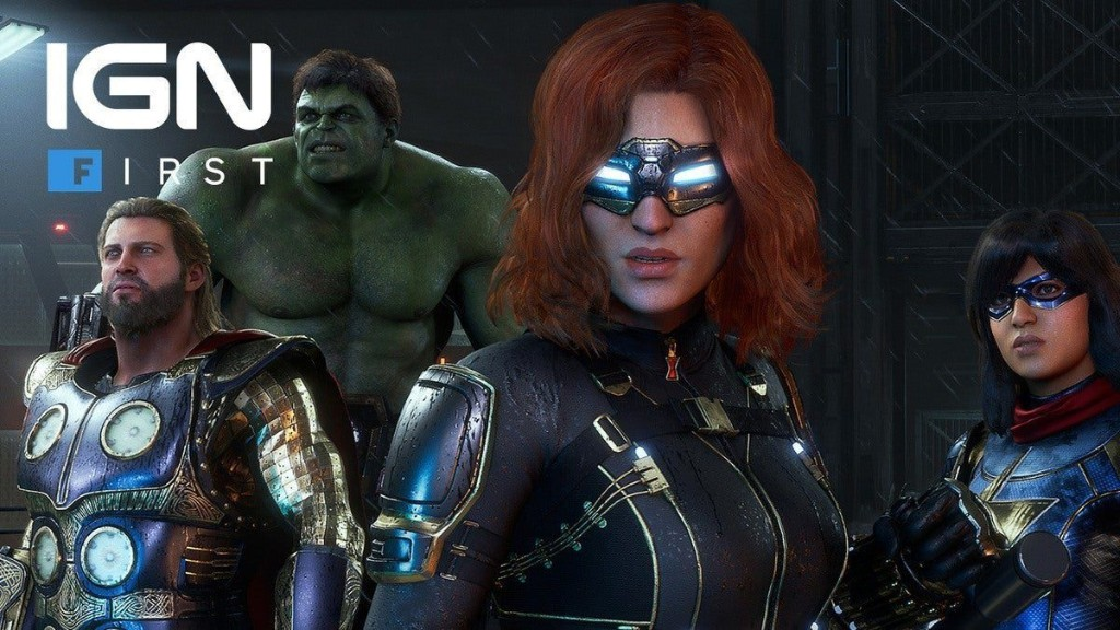 Marvel's Avengers : comment Marvel et Crystal Dynamics se sont rassemblés - IGN First