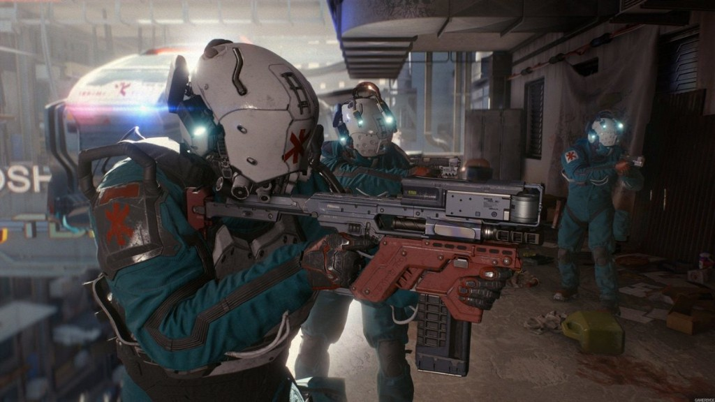 Cyberpunk 2077: Dark Horse Reveals Exclusive Trauma Team Comic Bundle