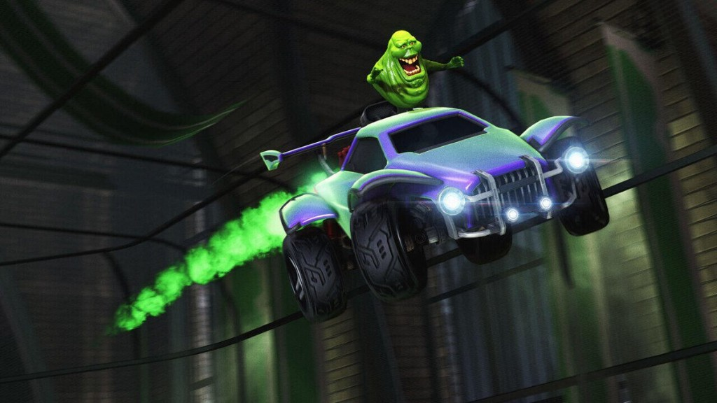 Rocket League Gets Haunted Hallows Event