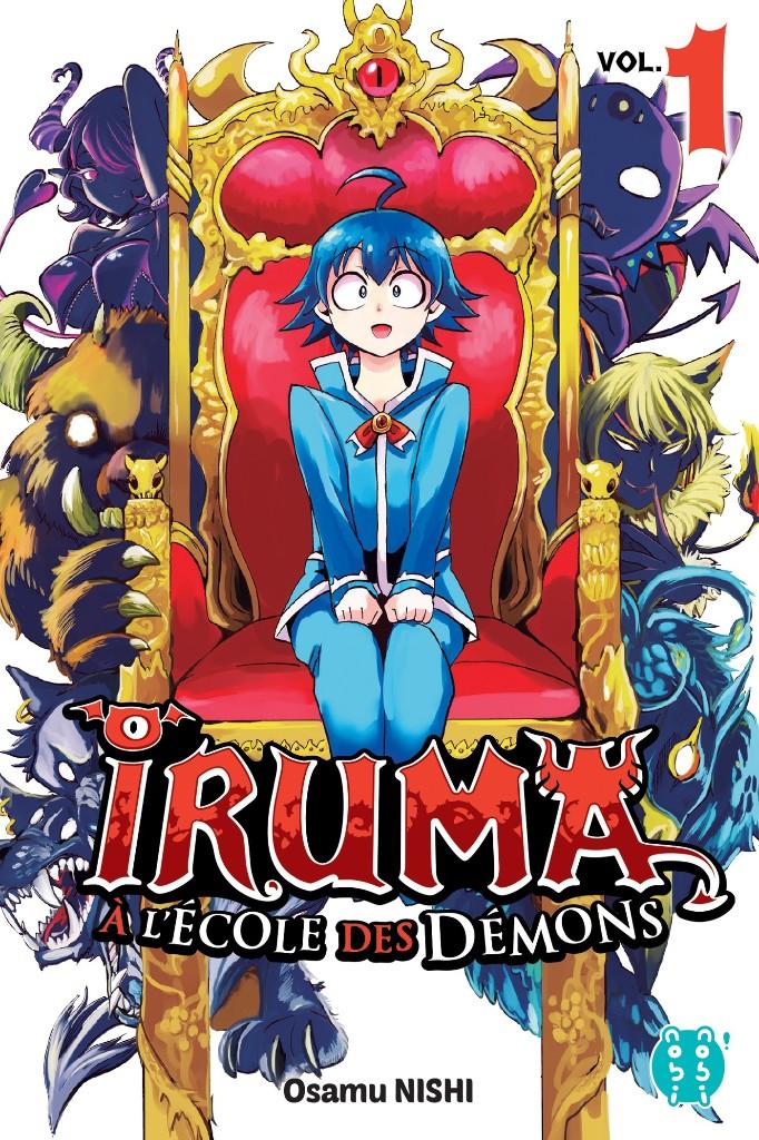 Le manga Iruma-Kun arrive en France