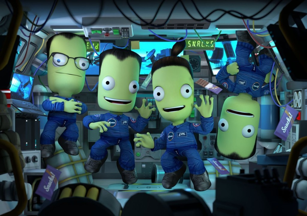 Kerbal Space Program Update will Recreate Two Real-Life Space Missions