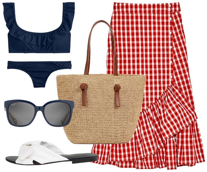 4 Chic Outfits That Will Take You From Beach To Street