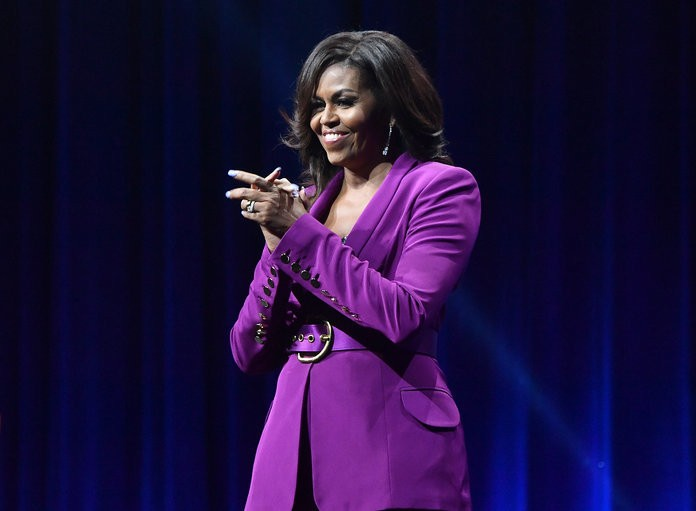 "Michelle Obama Is Named ""Most-Admired Woman"" of the Year in New Poll"