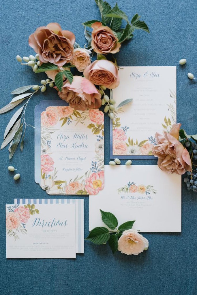 Wedding Invitations - Magazine cover