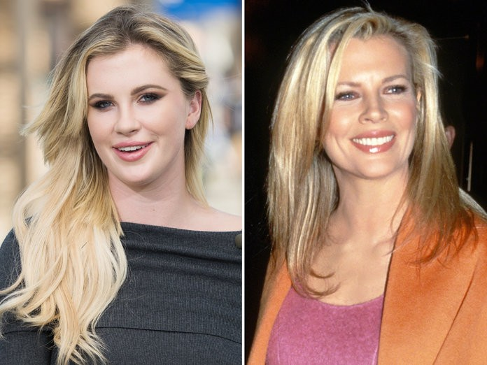 Ireland Baldwin Could Pass as Her Mom Kim Basinger's Twin