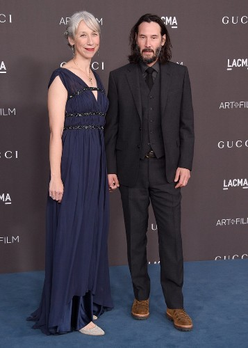Keanu Reeves Walked the Red Carpet With His Girlfriend for the First Time, Ever