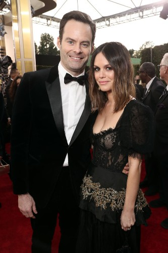 Rachel Bilson and Bill Hader Made Their Couple Debut at the Golden Globes