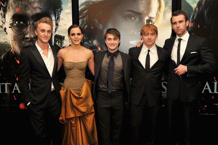 """This Harry Potter Star Says There Were Always """"Sparks"""" Between Emma Watson and Tom Felton"""