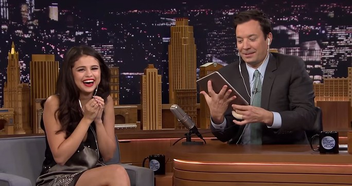 Watch Selena Gomez Make Hilarious Dubsmash Videos with Jimmy Fallon