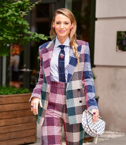 Here's Why Blake Lively Is Dressing Like a Fashionista Willy Wonka