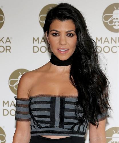 Kourtney Kardashian Rocks a Leather Mini Skirt in Leggy Instagram Snap
