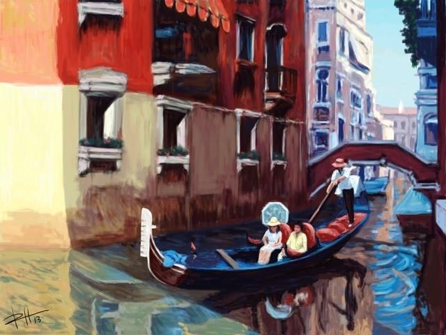 iPad Art: Venice