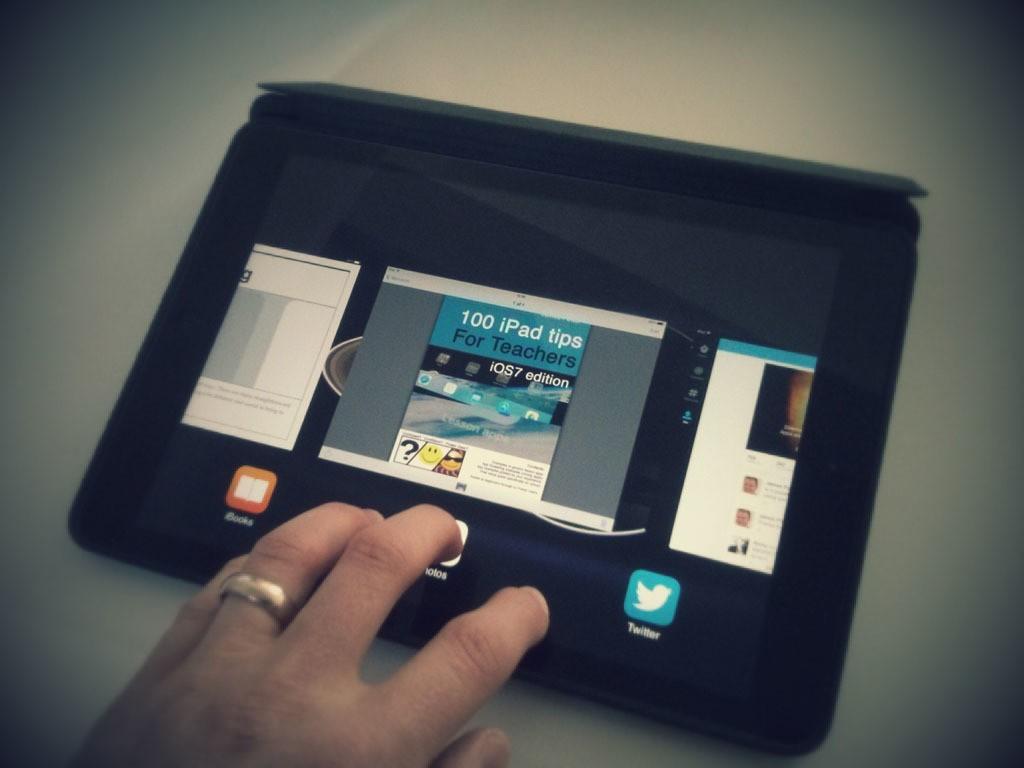 iPad Tips: iOS 7 Gesture Guide