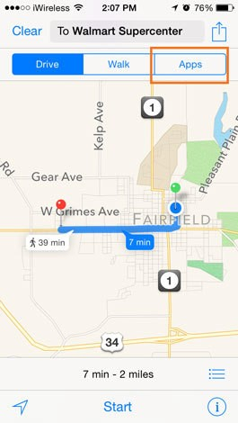 Tip of the Day: iOS 8 Gives Access to Third-Party Maps in Apple Maps