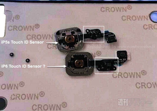 Alleged Photo of Tweaked iPhone 6 Touch ID Posted Online