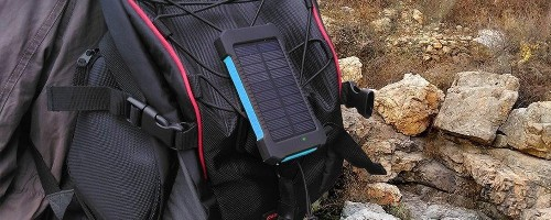 Review: Solar-Powered Portable Battery for iPhone & iPad