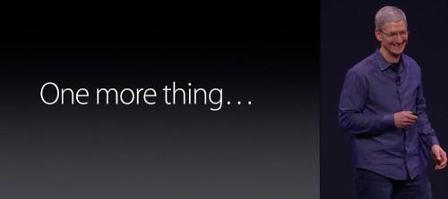 Apple Announcement Roundup