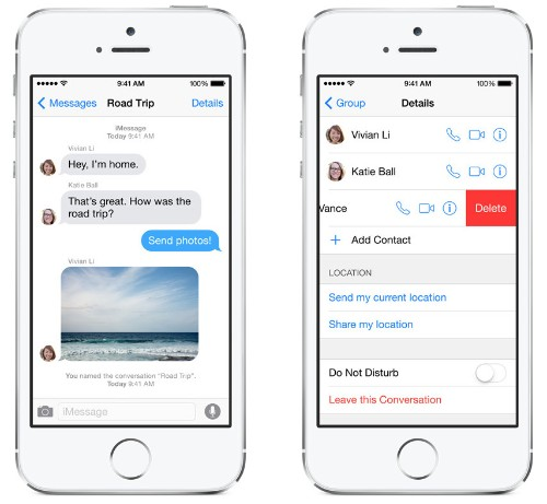 iOS 8 Brings Many New Features to Messages App