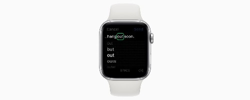 How to Edit Text on an Apple Watch Using Scribble