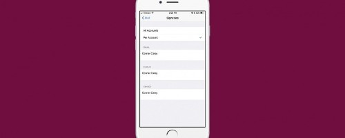 How to Create Different Signatures for Separate Email Accounts on iPhone