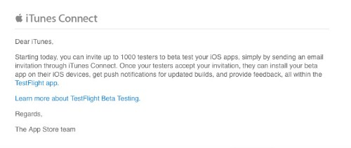 Take an App for a Test Flight with Apple's Expanded Beta Program