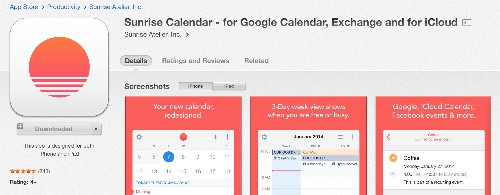 Replace Your Native Calendar App with Sunrise