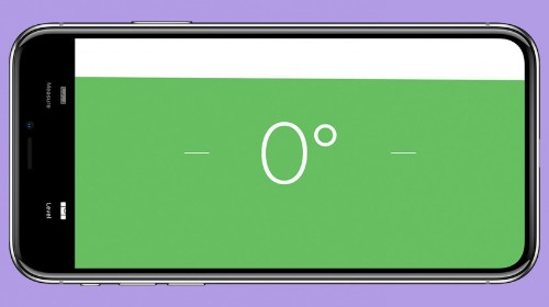How to Use the Level in the Measure App in iOS 12 on iPhone