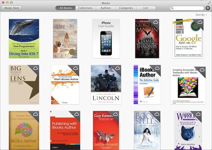iBooks for Mavericks - 5 Things You Need to Know