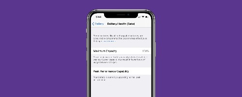 How to Check Your iPhone's Battery Health with iOS 11.3