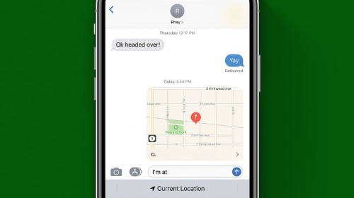 The Fastest Way to Your Share Location from an iPhone