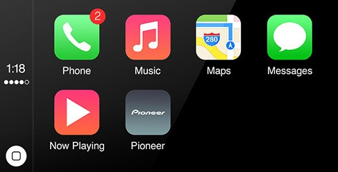 Pioneer to Offer CarPlay Systems Beginning Early Summer