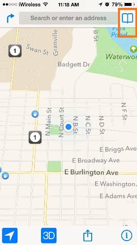 Tip of the Day: Get Directions Quickly from Apple Maps
